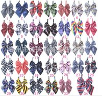 Wholesale 30pc Factory Sale New Colorful Handmade Adjustable Dog Ties Pet Bow Ties Cat Neckties Dog Grooming Supplies P04