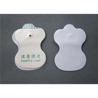 digital therapy machine - 50 Pads Good quality white Electrode Pads for Tens Acupuncture Slimming massager Digital Therapy Machine Massager Electrode Patch