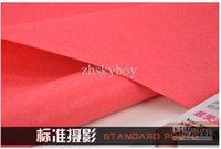 Wholesale 85cmX350cm color Imitation felt cloth Photography Professional Backdrop Background Cloth