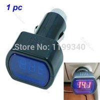 battery voltage gauge - C18 Digital LED Car Truck System Battery Voltmeter Voltage Gauge Volt Meter V V