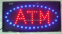 atm neon sign - 2015 hot sale custom neon signs led neon ATM sign led sign ATM board indoor size inch