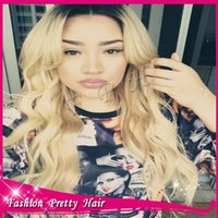 Cheap High quality virgin hair glueless full lace wig peruvian #1b 613 with baby hair around for black women,middle part ,no bangs