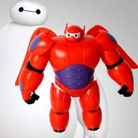 Plastic armor hero - 2016 Beast corps big hero removable plastic film Deformation of armor around Cartoon toys Film animation toys HW23