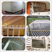 Wholesale Supply of fire retardant safety net nylon net hanging high altitude safety net hand woven nylon net hanging flat