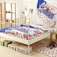Cheap 100% Cotton Bed Sheets Kids Bedding Set Comforter Set Queen Size Bedspread Duvet Cover Bed Quilt Bedroom Bedsheet Free Shipping