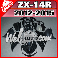 Wholesale In Stock Welmotocom Injection Mold Unpainted Unpolished Fairings For Kawasaki ZX R ZX14R K43W00