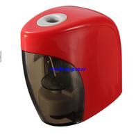 automatic knife sharpeners - New Electric Pencil Sharpeners Automatic knives Touch Switch Personal Home Office School Stationery Supplies children learning tools gift