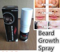Wholesale 2pcs ml beard growth spray Ues it continously that you can have sexy bread Natural