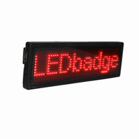 attraction acrylic - LED Display Board LED Message Board For Attraction Red Characters Acrylic Materials Best LED Products Support English And Chinese B1248R