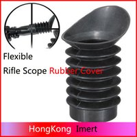 Wholesale Scope Ocular Rubber Cover Eye - New 38mm flexible Scalability ocular Soft rubber eye protector cover for rifle scope Hunting Scope Mounts Accessories