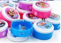 Wholesale Box cute Children s cartoon Pencil Sharpeners stationery Hot Promotion