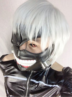 Costume Accessories best scary costumes - Japanese Cartoon Anime cosplay Tokyo Ghoul Kaneki Ken Cosplay Mask Original Copy Best Details