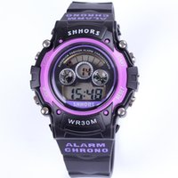 alarms gift items - Rushed Relogios Femininos atm Alarm Watch Band Military Sports Shhors Stopwatch Novelty Item For Gift Dropship