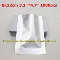 aluminium bag sealer - 3 quot quot _8x12cm Pure aluminium foil bag heat seal Silver Aluminum Foil Vacuum Sealer Bag keep Food Fresh