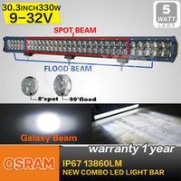 utv - OSRAM w Led Light Bar Car LED Driving Offroad Light Combo Beam WD camper ATV UTV Truck x4 lm x5W work light