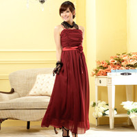 sister of the bride dress - 2015 The Latest Fashion Sisters Welcome The Bride Wedding Dress Bridesmaid Dress Chiffon Long Version Of Large Size Dress