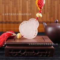 acrylic fabric manufacturers - Hot car pendant healing glass Maitreya security and peace car accessories manufacturers