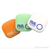 alarm system smart key - Bluetooth Smart Tracking Finder Bag Key Locator Alarm for IOS Or Android System With Colors Nut