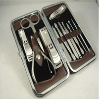 Wholesale Stainless steel nail clippers Set nail clippers manicure tool set Kit sets nail clipper manicure tools for