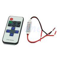 Wholesale L109DC V Mini Keys RF Wireless Remote Controller For Single Color Led Strip