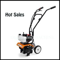 Wholesale New professional quality cc Mini Tiller Garden cultivator Rotary Hoe Tine Mini cultivator Pro Machine Plants