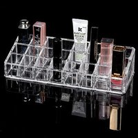 cosmetic storage box - Clear Acrylic Makeup CASES Drawers Cosmetic Jewelry Storage Organizer Boxes Gift
