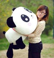 Panda stuffed animal pillows - new cm quot Plush Doll Toy Stuffed Animal Cute Panda Pillow Quality Bolster MYF98