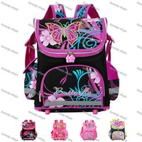 Wholesale New Winx School Bag Orthopedic Girls Princess Children School Bags Sofia the First Monster High School Backpack