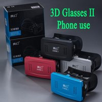 3d glasses - Brand patent Yinmei II Helmet D glasses images games movies Smartphone use iphone s plus samsung s6 s5 note ABS Acryl free DHL ship