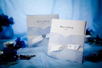 Wholesale 2015 invitations wedding creative high grade invitation blue custom invitations birthday invitation CARDS Wedding Supplies business