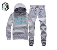 Cheap 2017 set Billionaire Boys Club Hoodies +pants fashion mens Sweatshirts autumn winter hip hop BBC suit