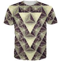 artistic t shirt designs - w1223 Artistic design geometric triangle pattern d t shirt stripe splice t shirts women men hip hop tees summer style tee shirts tops