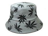 Al por mayor-2015 de la nueva manera de cubo gris sombreros cannabina para los hombres y mujeres que pescan los casquillos Gorras sombreros deportes calidad buen color barato