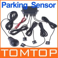 Wholesale Car Reversing Car parking sensor system w Parking Sensors Car Backup Reverse Radar Kit with human Voice Alert