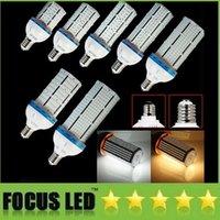 Wholesale 100 W W W W W W E27 B22 E40 Led Bulbs Light SMD Led Corn Lamp Warehouse Light High Bright Led High Bay Light AC V