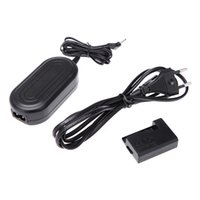 Wholesale ACK E10 AC V Power Adapter with DC Coupler Cable Kit for Canon EOS D Kiss X50 Rebel T3 Camera D1753