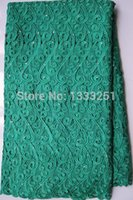 Wholesale nigeria Chemical Lace Water Soluble Lace Guipure lace C054 wine