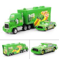 Wholesale Pixar cars Toys Diecast Metal MACK hauler MACK TRUCK Chick Hicks Racing NO Kids TOY