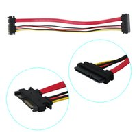 Wholesale M F Male to Female Pin Serial SATA Data Power Combo Extension Cable Cord
