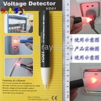 Wholesale Non Contact AC Voltage Alert Detector Tester Probe Sensor Gadget Tool Home Electrician Safety Device