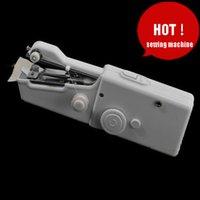 2015 Superior Cadeia de Moda, Costura a Máquina de confecção de Malhas de Chegada Lado a Máquina de Costura Elétrica Mini Manual do Agregado familiar Frete grátis