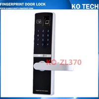 Wholesale KO ZL370 Mifare Card Fingerprint Door Lock with Password