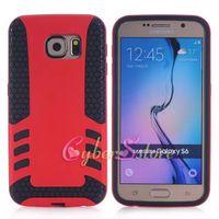 rocket - For Galaxy S6 S6 Edge Rocket Hybrid TPU PC Rubber Gel Defender Hard Phone Back Case Cover Antiskid Fashion For Samsung G9200