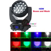 Wholesale Hot Selling Factory Price W X Zoom RGBW in Led Beam Moving Head Wash DJ Party Stage Lights