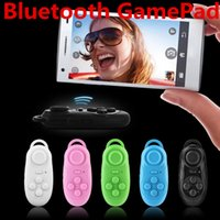 Wholesale Mini Wireless Fly House Bluetooth Gamepad Selfie Remote Shutter Self Timer Game Controller For iPhone Samsung Android Phone iOS PC