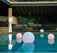 ball hone - 2new fashion cm inch Waterproof IP68 LED Water Swimming Pool Floating Ball Light for hone decoration