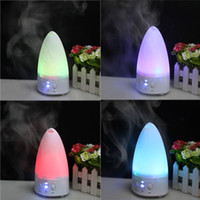 Wholesale Mini Aroma Diffuser Color changing LED Ultrasonic Air Humidifier Purifier Aroma Diffuser For Home Office
