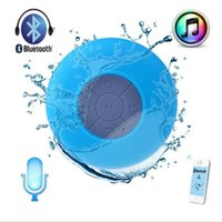 Cheap Portable Subwoofer Shower Waterproof Wireless Bluetooth Speaker Car Handsfree Receive Call Music Suction Phone Mic For iPhone