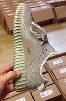 """Cheap (With Box) YEEZY 350 BOOST """"OXFORD TAN"""" MOONROCK Running Shoes Trainers Shoes Kanye BLACK Grey 350 West Yeezy Boost Dropshipping Accepted"""