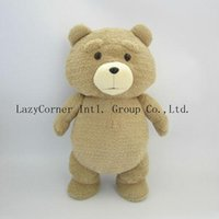 Wholesale 46cm Cute Teddy Bear Plush Dolls Man s Ted High Quality Stuffed Toys Birthday Christmas Gift Wedding Present